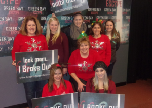 Things to for Christmas at Green Bay Escape..  #Jinglefail