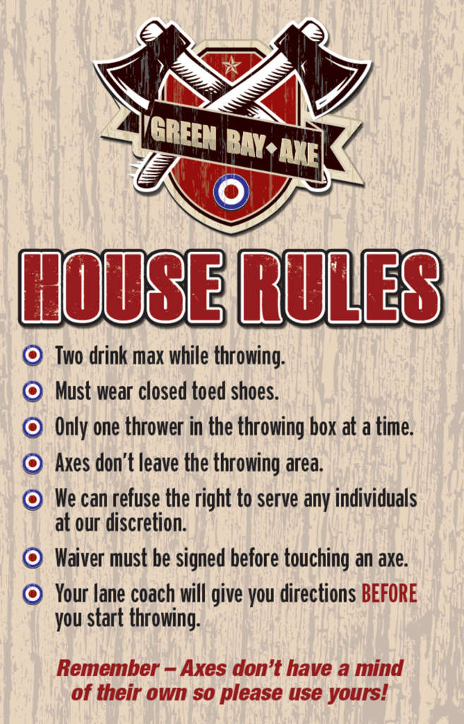 House Rules Axe2